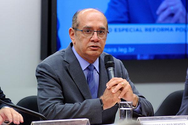 Gilmar Mendes foi um dos agentes públicos alvos do pente-fino da Receita Federal