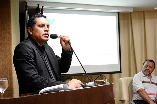 Subsecretário de Administração do Estado, José Ediran Magalhães participa da audiência pública