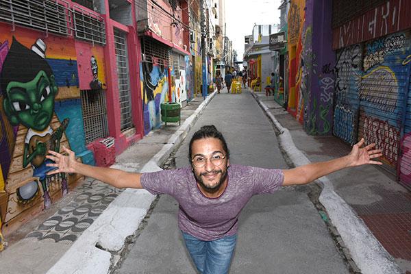 Frank Aleixo é apaixonado pela zona Norte e o Centro