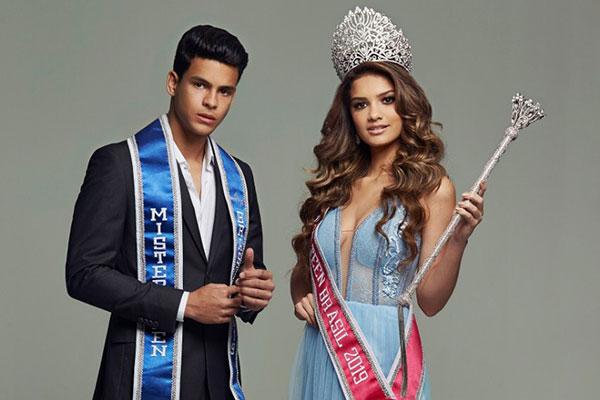 Lucas Baracho e Beatriz Lima, Mister e Miss Teen Brasil 2018 serão os grandes anfitriões da disputa nacional que acontecerá, em Natal