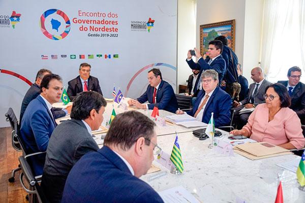 Reunião do Fórum de Governadores aconteceu em São Luiz do Maranhão