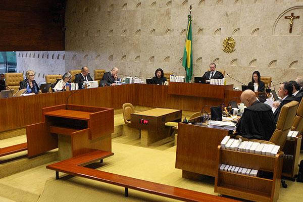 Ministros do STF encerram o julgamento que pode anular decisões tomadas pela Justiça Federal