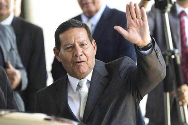 Vice-presidente, General Mourão