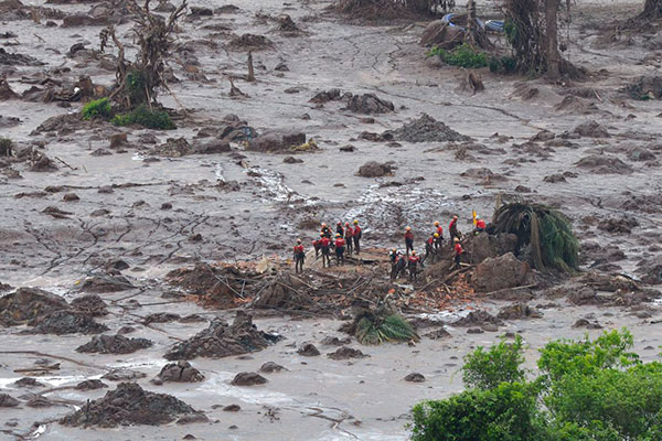 Barragem da Vale se rompeu no dia 25 de janeiro
