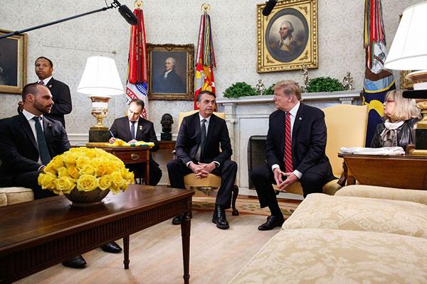 Essa é a primeira vez que os dois presidentes se encontram