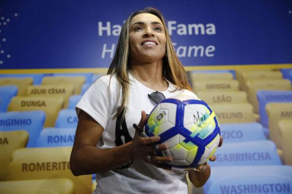 Jogadora Marta