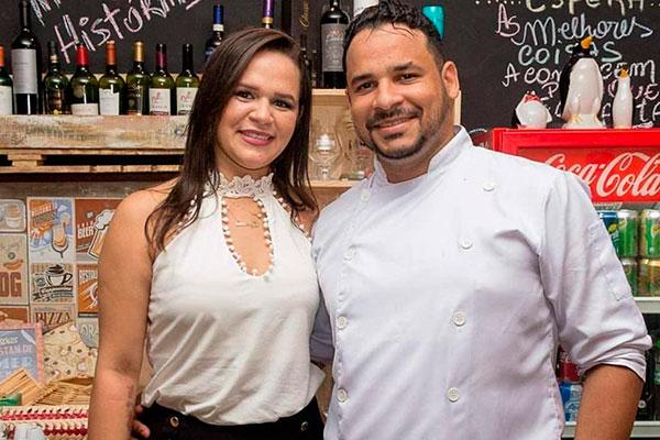 Saionara e Julio Cesar Barbosa investem na nova empreitada