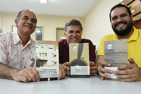 Editor José Correia trouxe coletânea de artigos curiosos, Rostand Medeiros sobrevoou um episódio inédito e Leonardo Dantas abordou a engenharia
