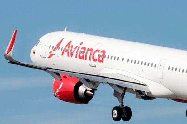 Avião da Avianca