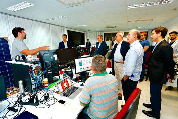 Presidente do Sebrae nacional, João Henrique de Almeida Sousa, conheceu estrutura do IMD/UFRN