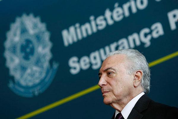 Ex-presidente Michel Temer também foi denunciado pela Lava Jato SP por reforma na casa da filha
