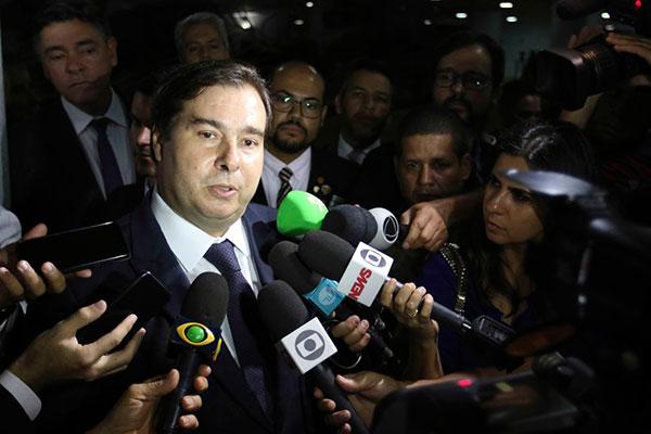 Rodrigo Maia disse que não tem mais as condições que tinha antes de ser um articulador político na tramitação da reforma
