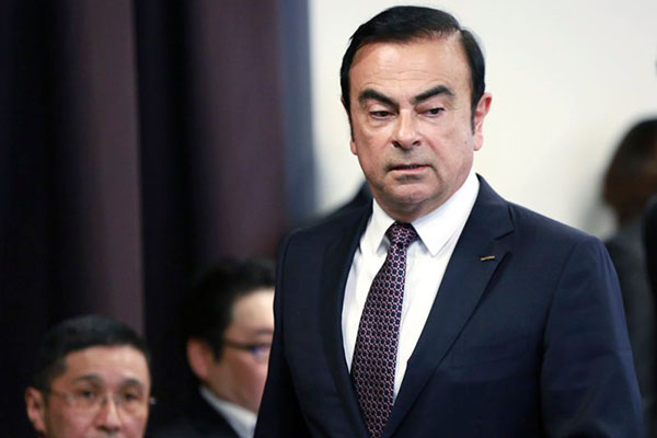 Carlos Ghosn ganhou as manchetes mundiais após executivo ser preso por suspeitas de fraudes