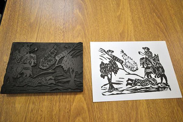 Matrizes eram usadas para imprimir cordel, rótulos, jornais e até cartazes de cinema, que depois eram reproduzidos nos folhetos