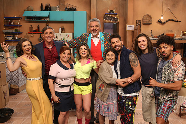 Em Os Roni, atores, comediantes e youtubers são nordestinos. A exceção é Oscar Marini