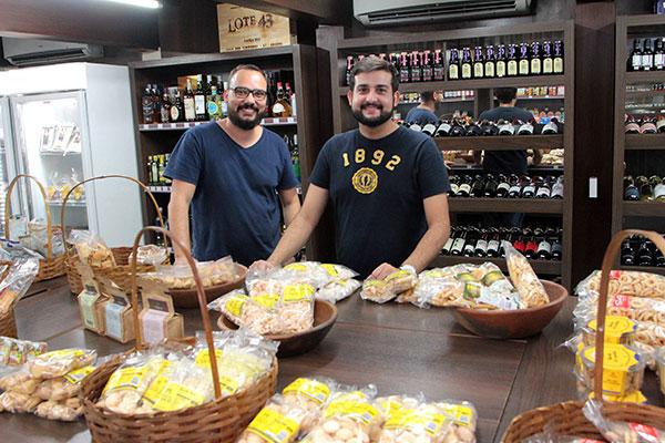 Alexandre Vieira e Caio Medeiros criaram um ponto de encontro