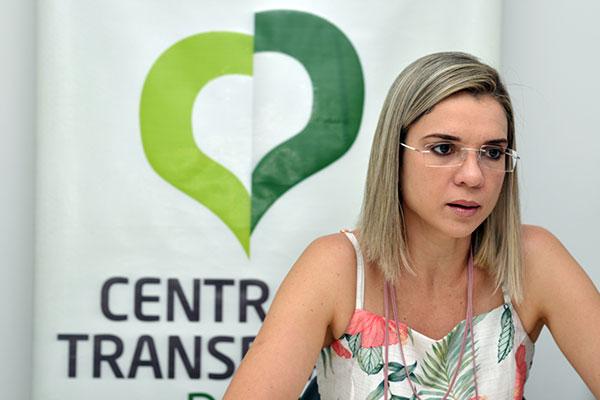 Raíssa Marques, coordenadora da Central de Regulação de Transplantes no estado