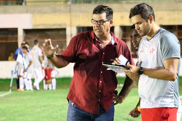 O técnico Moacir Júnio recuperou a confiança do torcedor e da direção após conquistar a Copa RN
