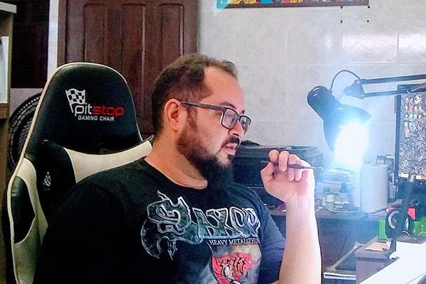 Gabriel Andrade Jr, desenhista