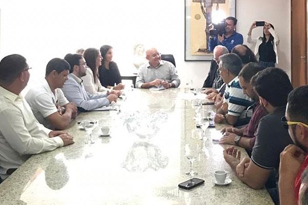 Reunião ocorreu na Governadoria