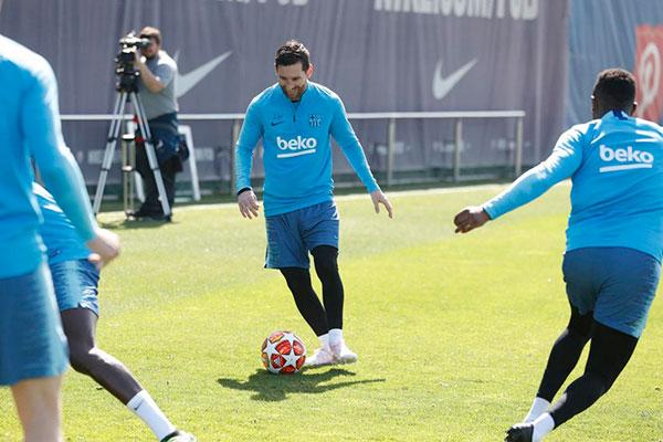 Lionel Messi está confirmado para o jogo de hoje pelo Barça