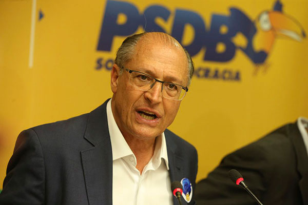 """Alckmin afirmou que """"é detentor de patrimônio modesto"""""""