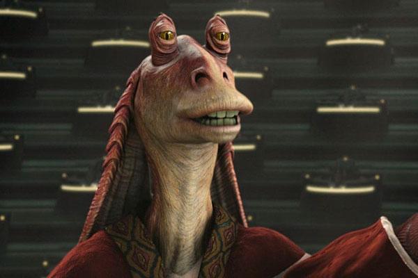 Jar Jar Binks, personagem da saga Star Wars