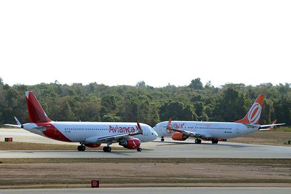 Número de movimentação de aeronaves e passageiros vem caindo ao longo dos anos no Estado