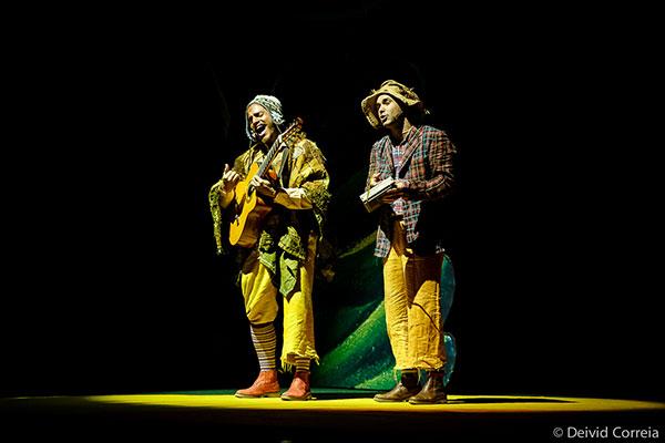 Espetáculo recria o universo da cultura central do Brasil
