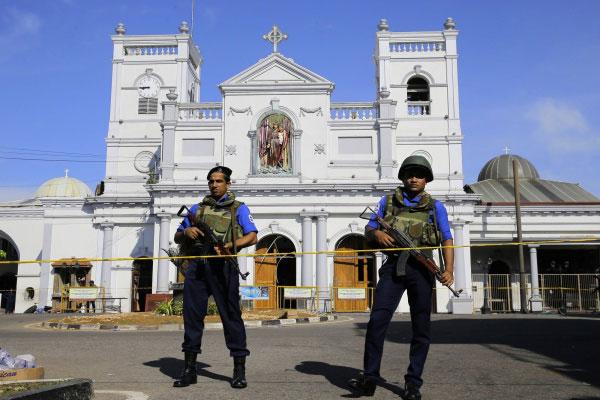 Sri Lanka autoria dos atentados