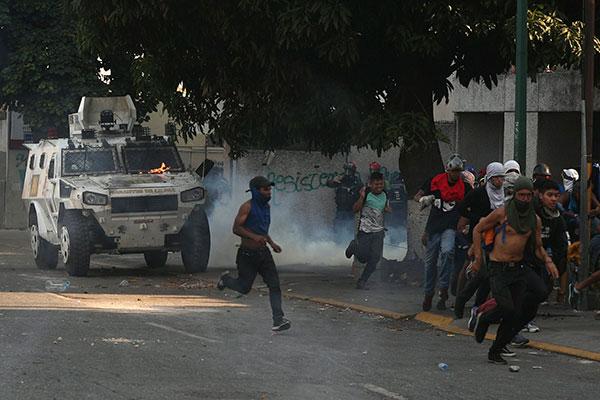 Protestos na Venezuela contabiliza dois mortos e dezenas de feridos