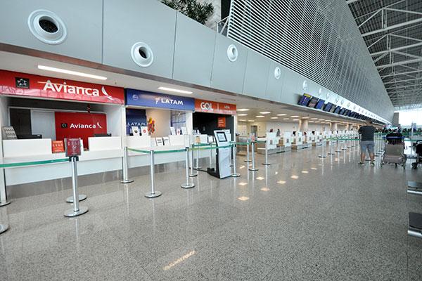 No mês de abril foram registrados 320 atendimentos no Juizado Especial, de pessoas a procura de orientações sobe voos cancelados