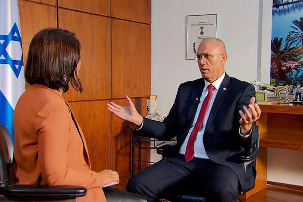 Embaixador de Israel no Brasil, Yossi Shelley
