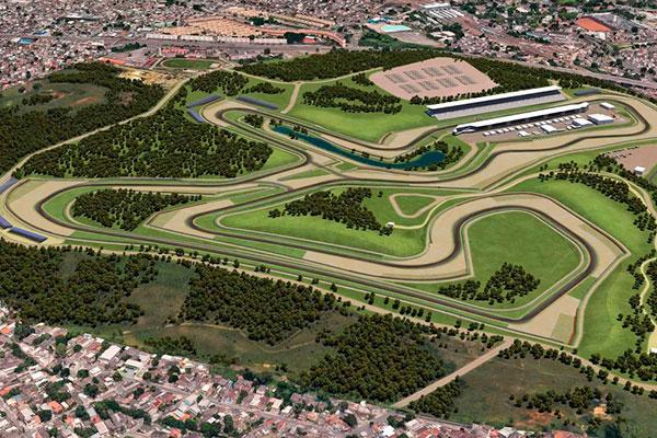 Segundo os projetistas do novo autódromo, a expectativa é para que seja dos mais modernos
