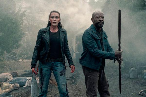 Missão de Morgan James e Aliciaé encontrar sobreviventes