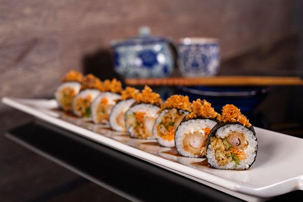 """Restaurante Takami Sushi House criou o prato Sushi Takami para o tema """"Original do Brasil"""""""