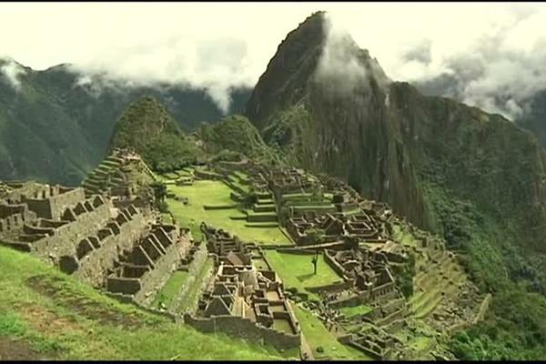 Machu Pichu, no Peru