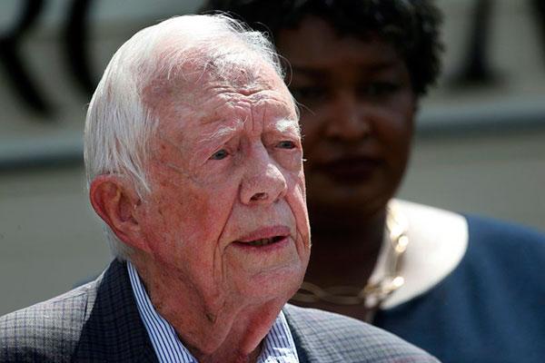 Ex-presidente dos EUA Jimmy Carter