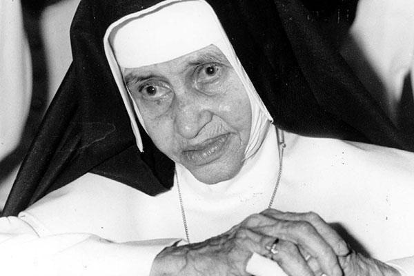 Irmã Dulce morreu no dia 13 de março de 1992