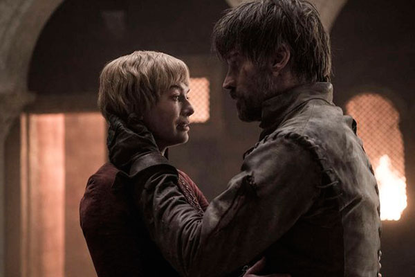 Soterramento de Cersei e Jaime marcou o último episódio