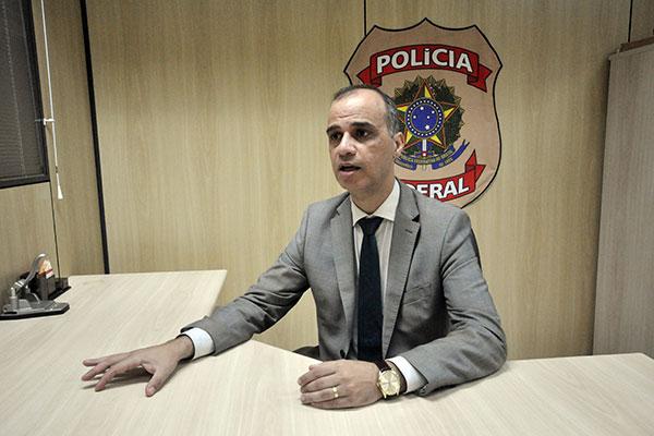 Delegado da Polícia Federal no RN, Agostinho Cascardo, falou sobre o tráfico internacional