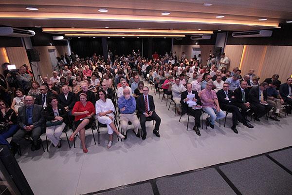 Autoridades, empresários e representantes de diversas áreas da cultura participaram do seminário promovido pela TRIBUNA DO NORTE em parceria com a Fecomércio RN, Fiern, UFRN e MPRN