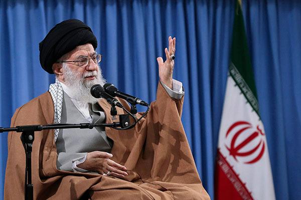 Aiatolá do Irã, Ali Khamenei disse que o país não quer guerra com os EUA