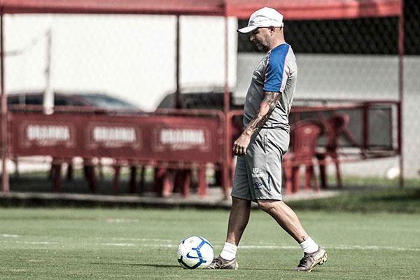Técnico do Santos, Jorge Sampaoli quer bom resultado contra Atlético-MG