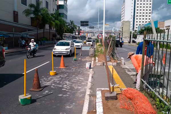 Passagem de carros será aberta para veículos acessarem a BR-101 em direção a Ponta Negra