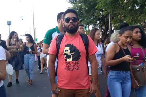 Anderson Bezerra, mestrando em filosofia e professor do ensino médio