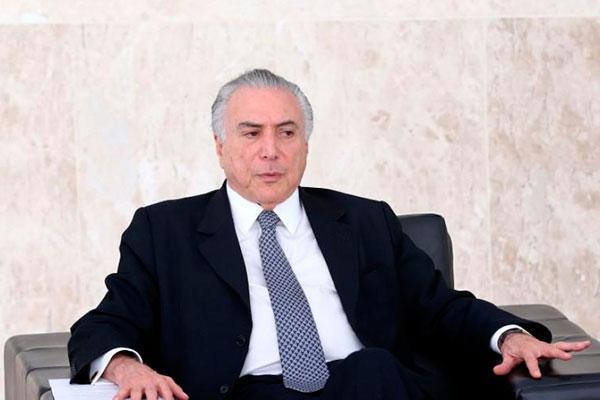 O ex-presidente Michel Temer deixou a prisão