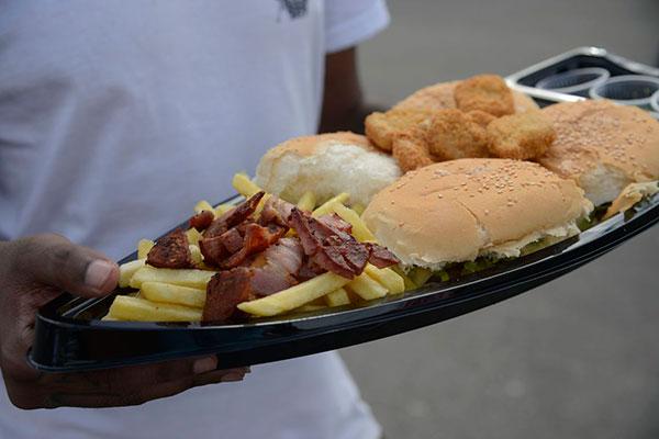Comidas não saudáveis que causam sobrepeso
