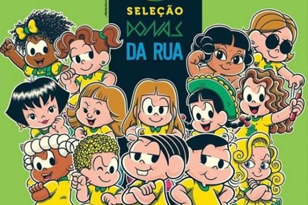 Donas da Rua vai homenagear todas as personagens femininas da Turma da Mônica