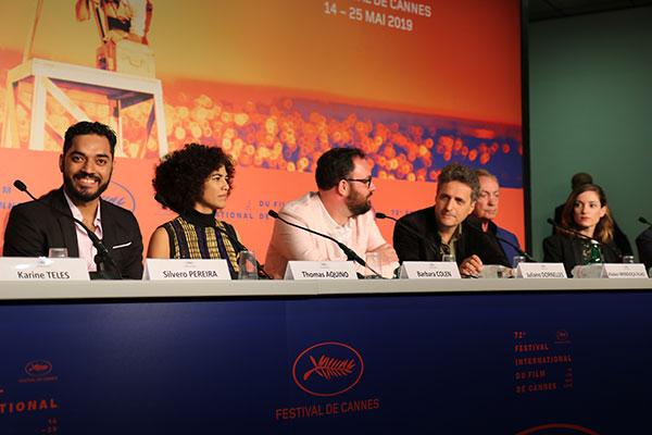 Entrevista durante a 72ª edição do Festival de Cannes